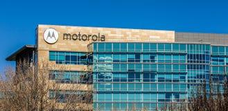 Motorola högkvarter i Silicon Valley Arkivbilder