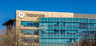Motorola Headquarters in Silicon Valley stock images