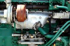 Motoronderdelen en componenten royalty-vrije stock fotografie