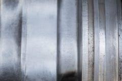 Motoronderdelen voor de achtergrond Stock Foto