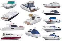 Motorowe łodzie Zdjęcia Stock