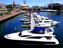 Motorowe łodzie Obrazy Royalty Free