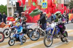 Motorowego sporta sekcja DOSAAF w Pyatigorsk, Rosja zdjęcia royalty free