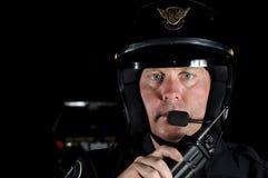 Motorowy oficer Zdjęcie Stock