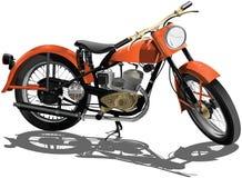 Motorowy rower  Obrazy Stock