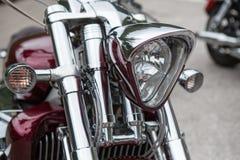 Motorowy rower Honda Gold Wing Zdjęcia Royalty Free