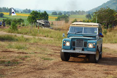 Motorowy samochód Obrazy Royalty Free