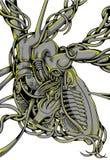 Motorowy serce Ilustracji
