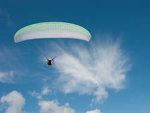 Motorowy spadochron fotografia royalty free