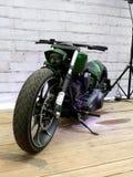 Motorräder HarleyDavidson Stockfotos