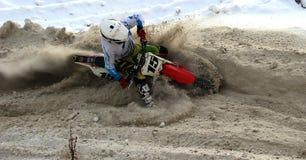 Motorracer Stock Afbeelding