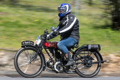 1926 Motorrad AJS H4 Lizenzfreie Stockfotos