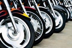 Motorrad-Bits: Räder Stockbilder
