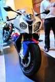 Motorrad BMW-Eisenbahn-S1000 Lizenzfreie Stockbilder