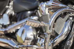 Motorrad-Bruch Stockfotos