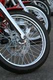 Motorrad-Chrom Lizenzfreie Stockfotografie
