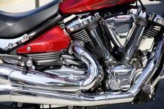 Motorrad-Detail lizenzfreies stockfoto