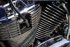 Motorrad enigne Lizenzfreie Stockbilder