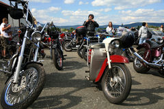 Motorrad-Ereignisse stockfotografie