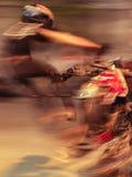 Motorrad-Extremsport Lizenzfreie Stockbilder