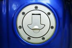 Motorrad-Gaskappen Lizenzfreie Stockfotografie
