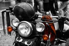 Motorrad Harley-Sonderkommando stockfotografie