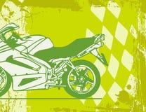 Motorrad-Hintergrund Lizenzfreie Stockfotos