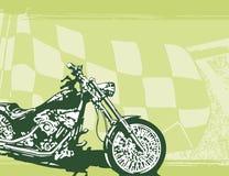 Motorrad-Hintergrund Stockfotos