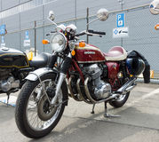 Motorrad Honda CB750 vier Lizenzfreie Stockfotos