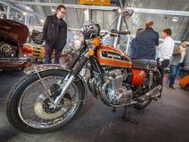 Motorrad Honda CB750 vier K7, 1976 Stockfotos