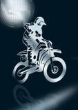 Motorrad-Laufen   Stockbilder