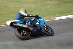 Motorrad laufendes II Lizenzfreie Stockbilder