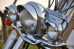 Motorrad lightbar lizenzfreies stockfoto
