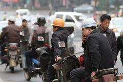Motorrad-/Motorrad-Taxi Stockfotos