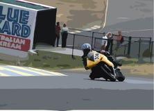 Motorrad-Rennen Lizenzfreie Stockfotografie