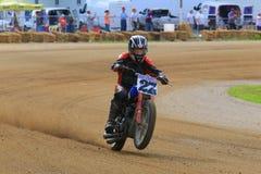 Motorrad Wheelie lizenzfreie stockfotos