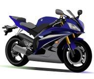 Motorrad Yamahas R6 Lizenzfreies Stockfoto