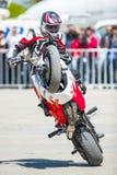 Motorradausstellung in Bukarest Lizenzfreie Stockbilder