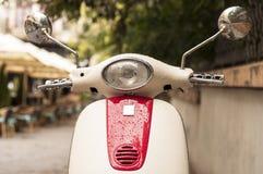 Motorraddetail Stockbild