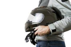 Motorradfahrer Lizenzfreie Stockbilder