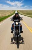 Motorradfahrt Lizenzfreie Stockfotografie