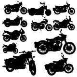 Motorradklassikervektor stockfotografie