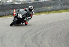 Motorradlaufen stockbilder