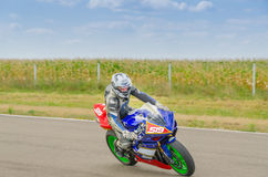 Motorradlaufen Stockfotografie