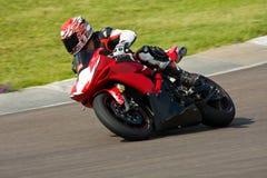 Motorradlaufen. lizenzfreie stockfotografie