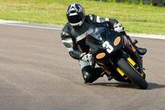 Motorradlaufen. stockfotografie