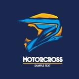 Motorradlogoillustration Lizenzfreie Stockfotos