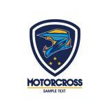 Motorradlogoillustration Lizenzfreies Stockfoto