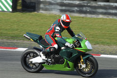 Motorradmitfahrer Lizenzfreies Stockbild