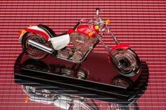 Motorradmodell Lizenzfreie Stockfotos